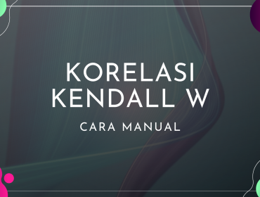 Thumbnail Cara Manual Korelasi Kendall W